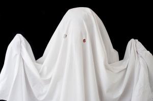 Bedsheet spectre costume